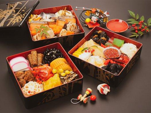 """日本""""Osechi Ryori(御节料理)""""表达人们对新年的祈愿"""